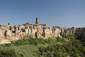 San Gimignano, Pienza & Pitigliano